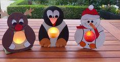 Deze lichtjes van Kinderknutselfantasie (www.facebook.com/knutselwerkstukken) zijn superleuk met een batterijlichtje! De patronen zijn gratis!