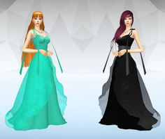 My Sims 4 Blog: Princess Venus Dress and School Uniforms by SilverMoon