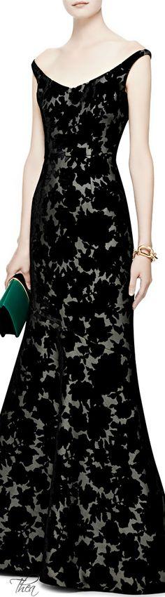 Oscar de la Renta ● Velvet Devoré Gown