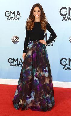 Jana Kramer from 2013 CMA Awards | E! Online