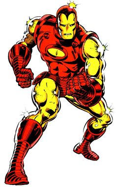 Iron Man by BOB LAYTON