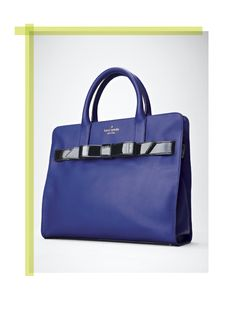 Kate Spade New York 'Rosa' handbag #Nordstrom #NSale - chic lines - blue