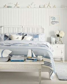 Beach themed bedroom design ideas that room ideas home decorating 16 beach style bedroom decorating ideas 50 geous beach bedroom[. Seaside Bedroom, Beach House Bedroom, Coastal Bedrooms, Beach Room, Home Bedroom, Beach Bedrooms, Coastal Bedding, Beach Inspired Bedroom, Country Bedrooms