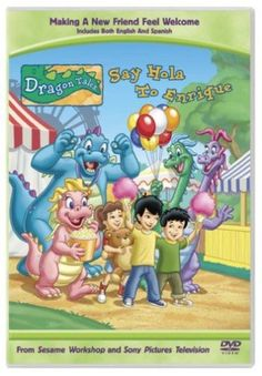Dragon Tales - Say Hola to Enrique: This DVD includes 6 new sunny adventures based on the best-selling children's book series. Childhood Tv Shows, Childhood Movies, Enchanted Learning, Wiggles Birthday, Dragon Tales, Kids Book Series, Tales Series, Picture Movie, Old Tv Shows