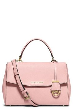b4a42b907226 MICHAEL Michael Kors  Medium Ava  Satchel available at  Nordstrom Michael  Kors Leather Bag