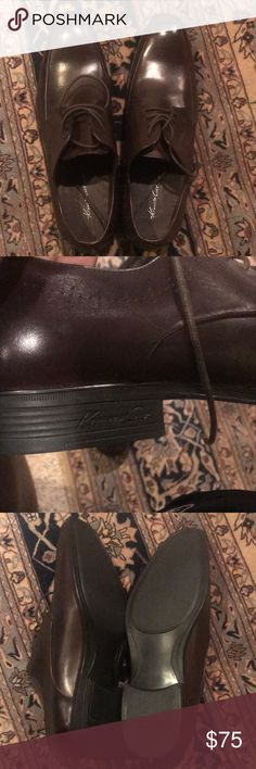 Kenneth Cole brand new shoes Dark Brown Brand new Kenneth Cole dress shoes. Never Worn Kenneth Cole Shoes
