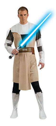 Naamiaisasu; Obi-Wan Kenobi  Lisensoitu Star Wars Obi-Wan Kenobi asu standardikokoisena. Olkoon Voima Kanssasi. #naamiaismaailma