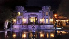 5. The Sterling Castle - Shelby, AL found where I wanna get married <3 I can be a real princess in a castle :D