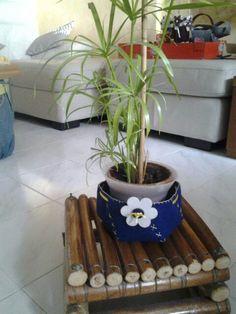 Sotto vaso blu Planter Pots
