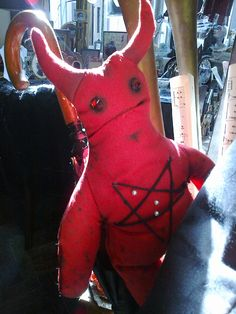 Camel Toe Demon voodoo doll