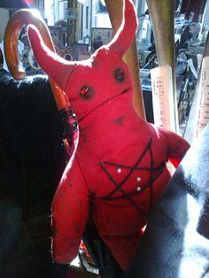 Camel Toe Demon voodoo doll