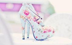 floral #heels