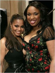 Janet Jackson and Jennifer Hudson
