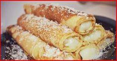 Clătite uimitor de fine cu cremă fiartă - descoperiți cea mai bună umplutură pentru cel mai delicios desert! - Bucatarul Hungarian Recipes, Russian Recipes, Cake Recipes, Dessert Recipes, Bread Dough Recipe, Tasty, Yummy Food, Snacks, Other Recipes
