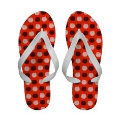 Small Round Cat Polka Dots Sandals
