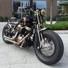 Harley Crossbones by Warr's Customs, London