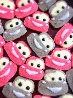 可愛い子供が喜ぶプレゼントカーズクッキー by プクル [クックパッド] 簡単おいしいみんなのレシピが233万品