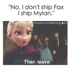 You said it Elsa, FAX FOREVER I like Dylan and all but Fang and Max have an unbreakable bond and love that will last FOREVER, through everything