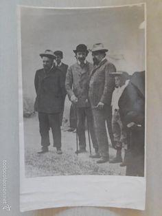 FOTO: J. SOROLLA, M. BENLLIURE Y BLASCO IBAÑEZ, JUNTOS. FOTOG. MARTIN VIDAL CORELLA. ANTIGUA¡¡¡ (Fotografía Antigua - Fotomecánica)