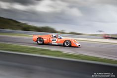 Photo gallery from FIA Masters Historic Sports Cars at the Zandvoort Grand Prix held August at Circuit Park Zandvoort in the Netherlands. Sports Car Photos, Le Mans, Grand Prix, Chevron, Photo Galleries, Racing, Cars, Gallery, Auto Racing