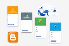 Formulario de contactos para Blogger V2 Product Development, Web Development, Contact Form