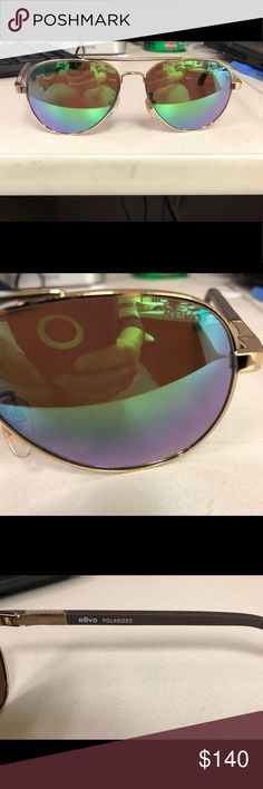 236ce41a5281 Revo Sunglasses Revo Raconteur Aviator Sunglasses. They are polarized.  Minor scratches. I had