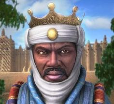 Mansa Musa of Mali - ruler of the Malian Empire which is now Ghana.The 14th Century West African King came out top in the latest rich list, which was adjusted to account for inflation.