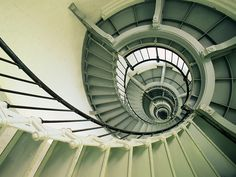 Spiral Staircase Ponce de Leon Inlet Lighthouse Florida  love going to the lighthouse..