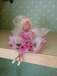 Needle felted fairy Waldorf inspired Fairy with by DreamsLab3