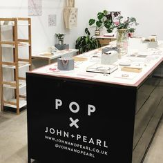 Brave the rain!  Pop x JP is open til 7pm today 31a Duke Street (just opposite Selfridges) #popup #shopsmall #johnandpearl