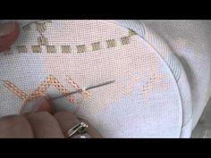 Double cable stitch. Tania Myneedle YouTube Published on Feb 17, 2016 Hardanger…