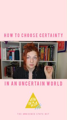 Do you feel you are Choosing Soul Certainty in your daily life? In today's Vlog, I wanted to explain in depth what it means to choose certainty in such an uncertain world. Along with some tips to help you see why when we are externally influenced we can allow the fear to drive us which influences our results. When we choose soul certainty within ourselves, we're no longer allowing the fear-mind to drive us as much anymore. Catch the full convo on the blog by clicking the link 👇✨ Ascension Symptoms, Indigo Children, Do You Feel, Spiritual Awakening, Spirituality, Mindfulness, Advice, Feelings, World