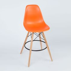 Barstool Slope Chair in Orange | dotandbo.com