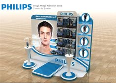 Philips Design Activation stand on Behance