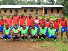 Gashangiro girls football team