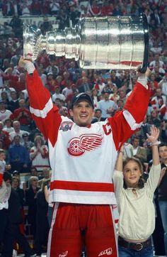 2002- Steve Yzerman(Detroit Red Wings) #hockey #whistler