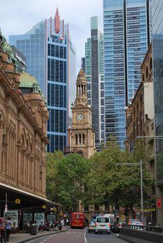Downtown Sydney Australia by Deanne Joy