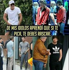 Read from the story Memes de One Direction by (𝖒𝖚𝖘𝖊) with 732 reads. One Direction Photos, One Direction Memes, Larry Stylinson, Harry Styles Memes, Fifth Harmony, Crazy People, Edward Styles, Louis Tomlinson, Funny Moments