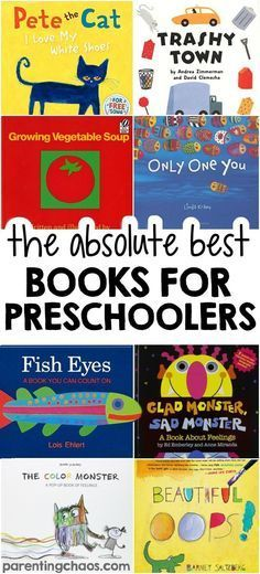 The absolute best books for preschoolers - over 100 ideas! #Books