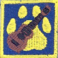 Cub Scouts/The campfire traditions & programme merit badge; Partiotuote, Iltaohjelma-jälki , Sudenpentujen Iltaohjelma-jälki