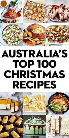 The 100 best Australian Christmas recipes of all time - Quick, Easy, Cheap and Free DIY Crafts Best Christmas Recipes, Christmas Dishes, Christmas Cooking, Christmas Desserts, Holiday Recipes, Christmas Lunch Ideas, Christmas Nibbles, Christmas Dinner Menu, Christmas Foods