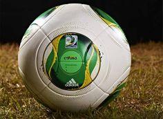 Cafusa, a bola oficial da Copa das Confederações