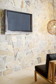 Howqua® Freeform® Stone Wall Cladding by Eco Outdoor Stone Siding, Stone Cladding, Wall Cladding, Stone Feature Wall, Stone Accent Walls, Outdoor Tiles, High Walls, Dream House Exterior, Brick And Stone