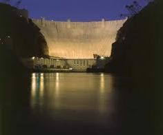 Hoover Dam at night... Google search pics