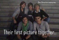 Day 9- fav pic of the boys and explain y: this is my fav pic of the boys cuz it was just true destiny. First pic they ever took as a group. And u know what's even more funny? They're sitting in stairs. Just like in the video diaries :D