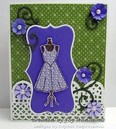 Card created by Joy Hadden. Rubber stamps by Repeat Impressions. - http://www.repeatimpressions.com/pairings.html - #repeatimpressions #rubberstamps #cardmaking #pairings #bloghop