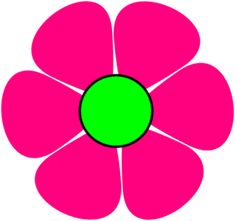 Light Pink Flower Clipart | Clipart Panda - Free Clipart Images