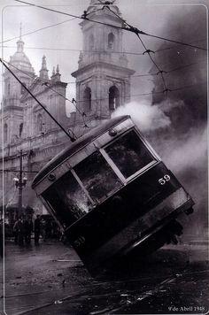 9 de Abril 1948. Bogotá. En el Centro.