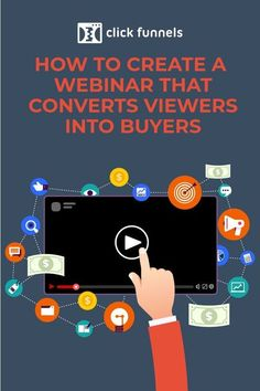 A webinar is an effective marketing tool in helping turn potential customers into buyers through a live, educational, and engaging discussion. Learn How to Create a Webinar That Converts Viewers Into Buyers here. Content Marketing Strategy, Marketing Tools, Marketing Digital, Business Marketing, Business Tips, Internet Marketing, Online Marketing, Social Media Marketing, Online Business