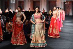 Jyotsna Tiwari Couture Collection at India Bridal Fashion Week 2012